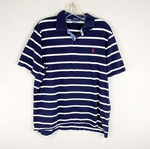 Polo Ralph Lauren | Navy Striped Classic Polo